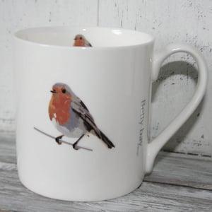 Image of Robin English Fine Bone China Mug