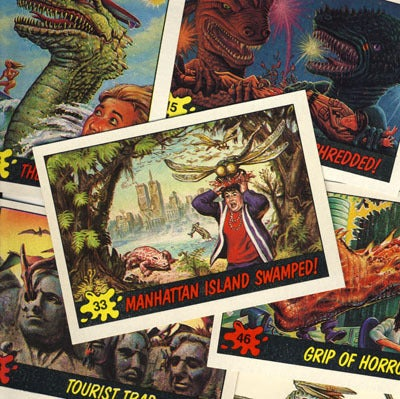 Image of DINOSAURS ATTACK! TRADING CARDS - 1988