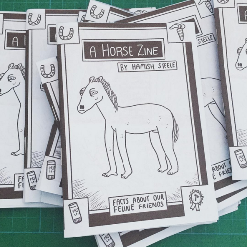 Image of A Horse Zine