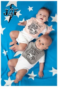 Image of BABY BIB 'Family first'    JCF Baby wear