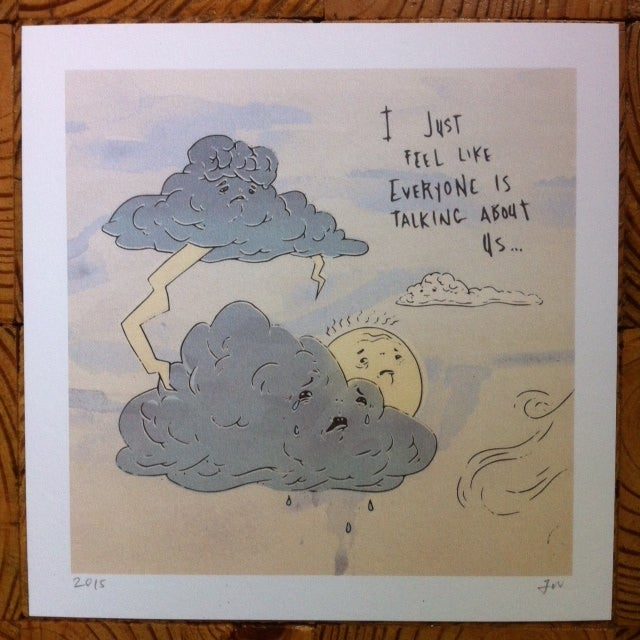 Image of Don't Talk About the Weather Print
