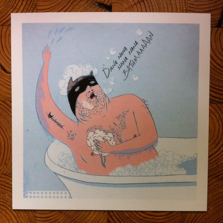 Image of Bathman Print