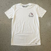 """Image of Cats and Triangles LTD """"Kitty"""" T-Shirt - White"""