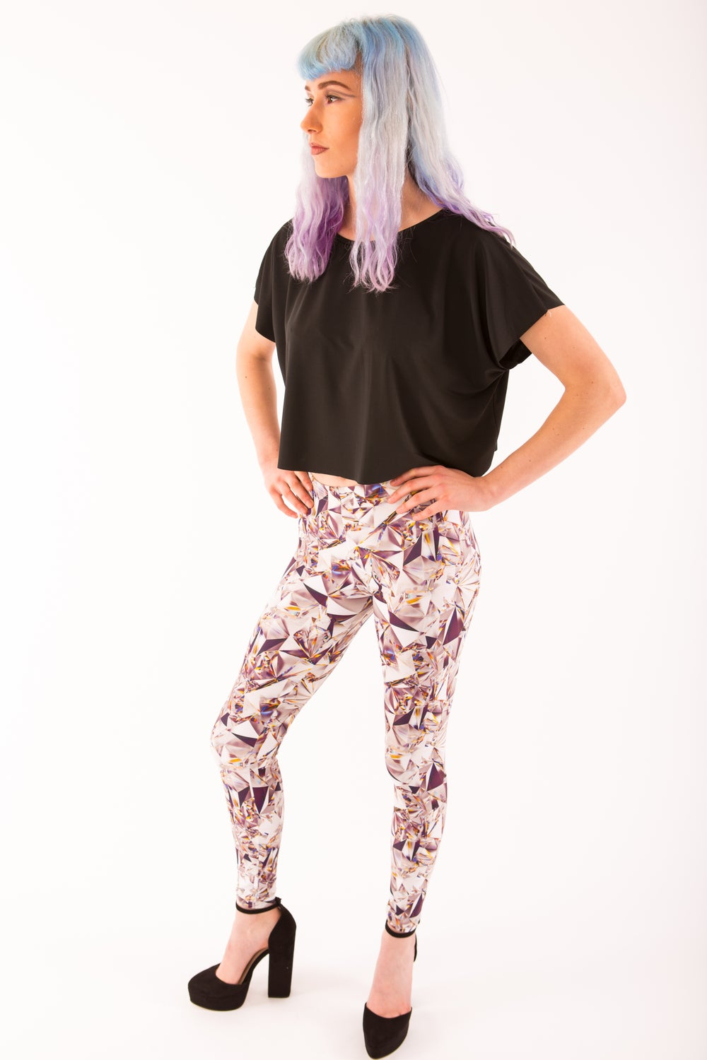 Image of Shattered Glass Leggings