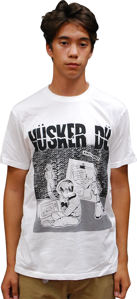 Image of HÜSKER DÜ: AMUSEMENT T-SHIRT