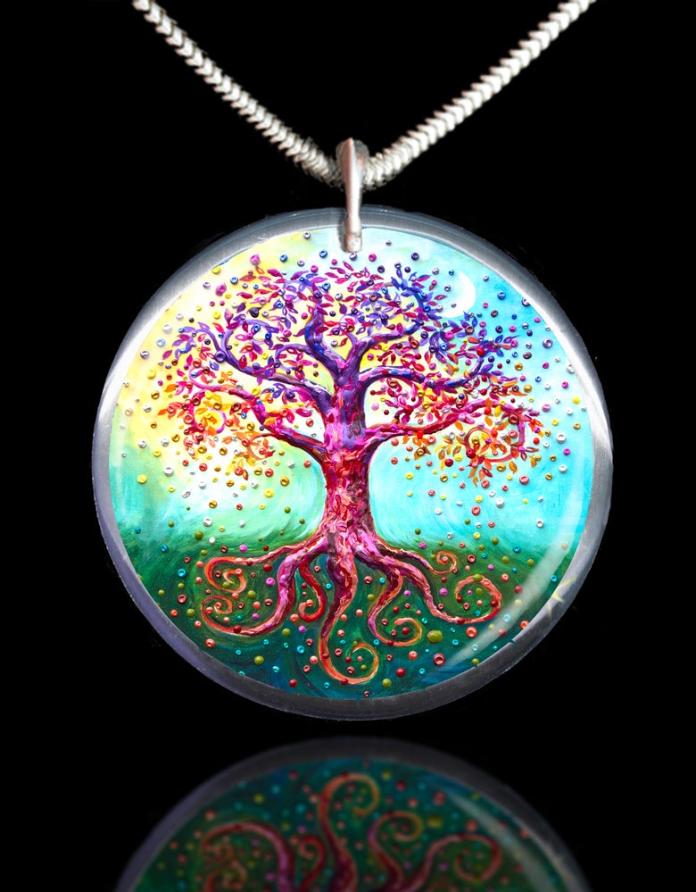 Image of The Tree Of Life Energy Pendant