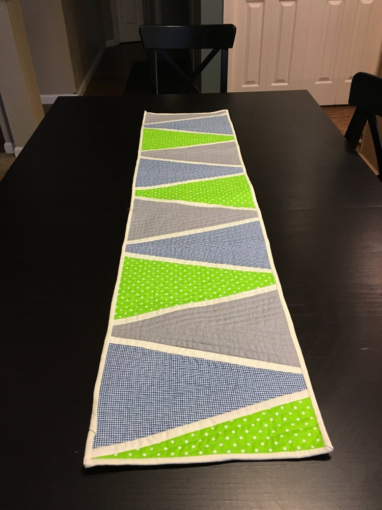 Image of Custom Quilted Table Runner