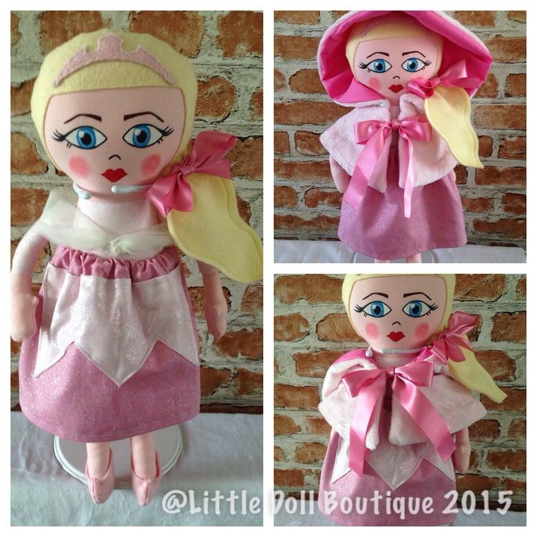 Image of Pink princess doll