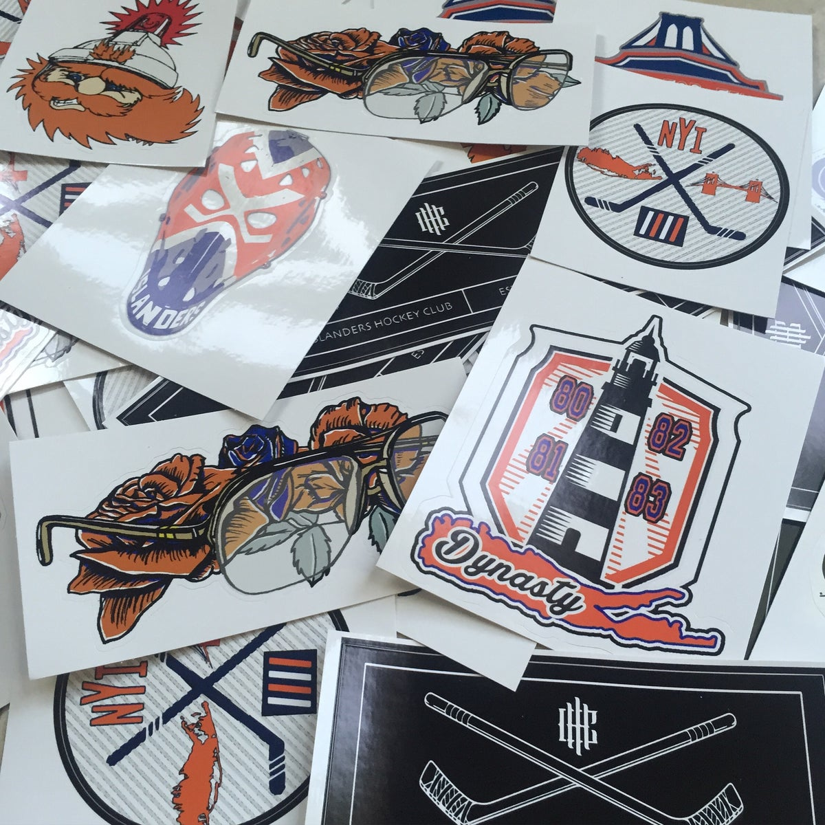 Image of ISLES UV VINYL STICKERS