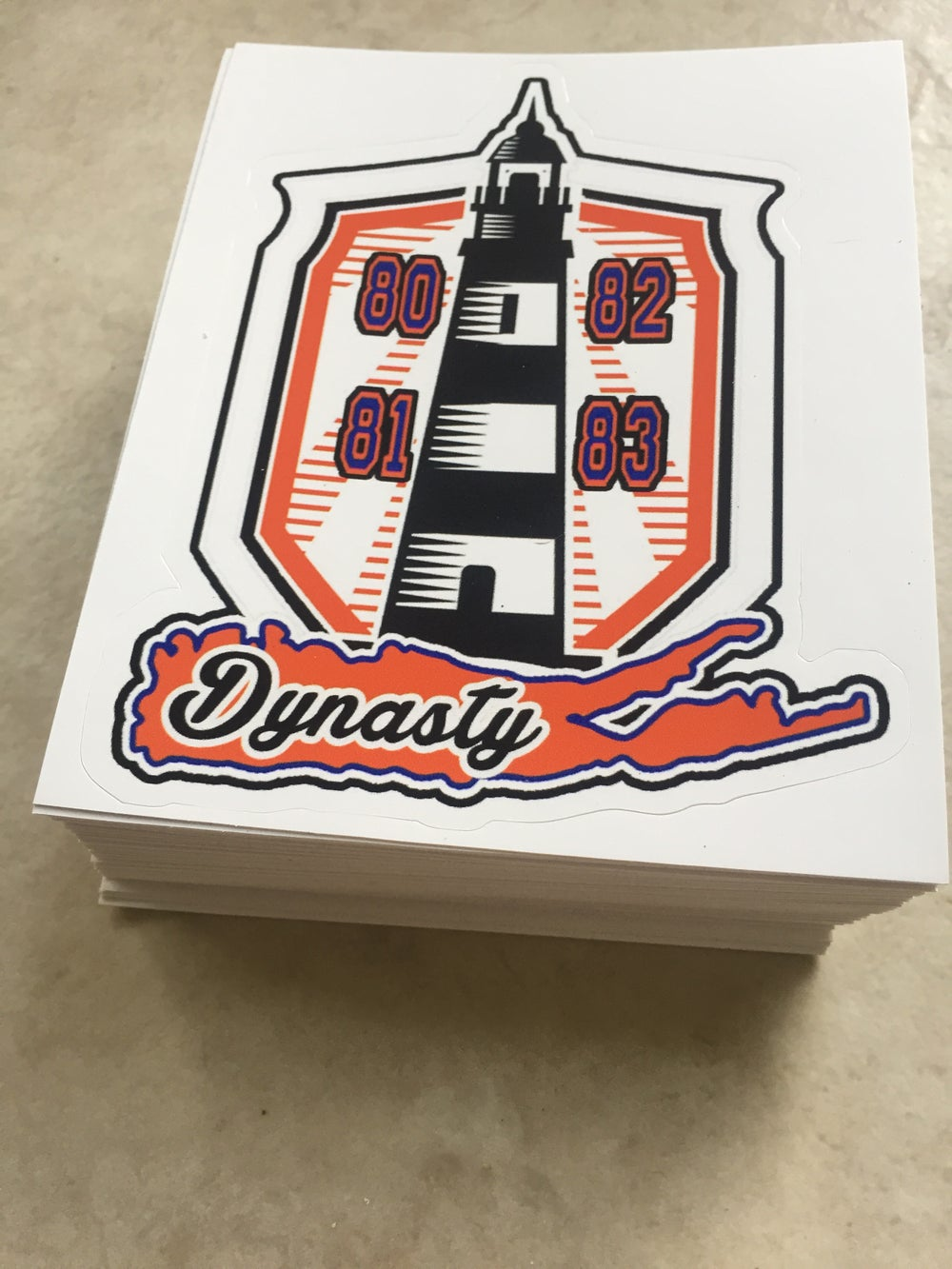 Image of Dynasty UV vinyl Sticker