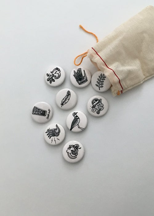 Image of Black Button Pack
