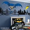 Batman Boys Wall Decal Super Hero Themed Room