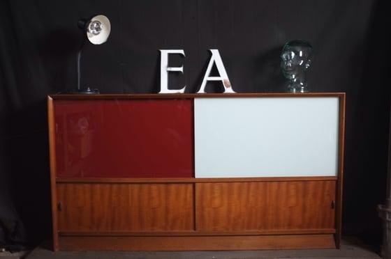 Image of Mid-Century Teak Cabinet.
