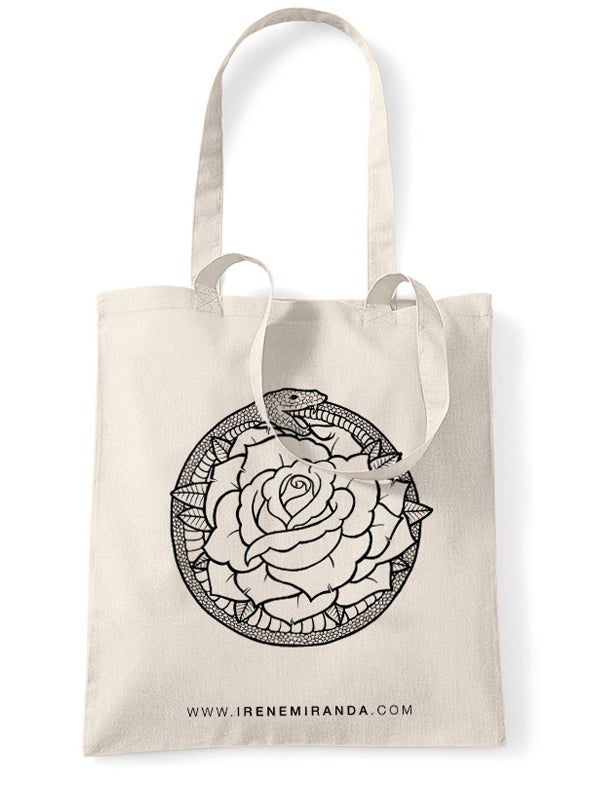Image of SNAKE & ROSE Tote Bag