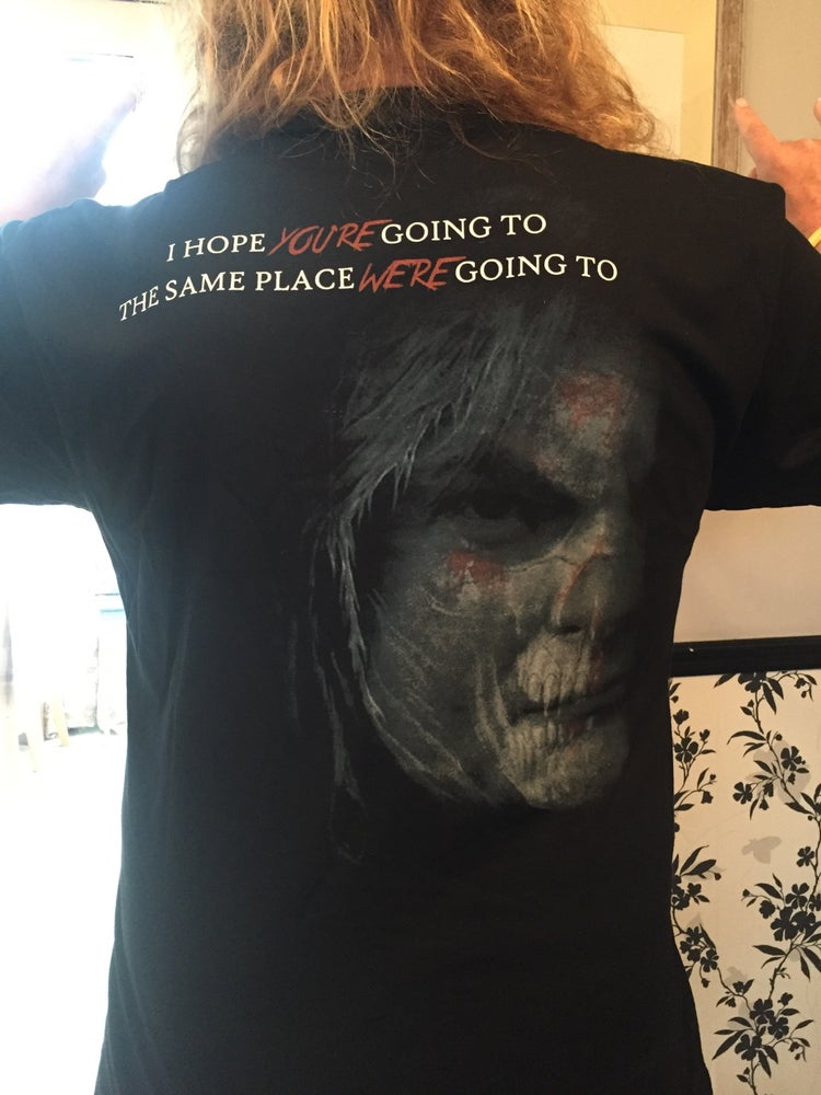 "Image of ""I hope you're going to the same place we're going to"" t-shirt"