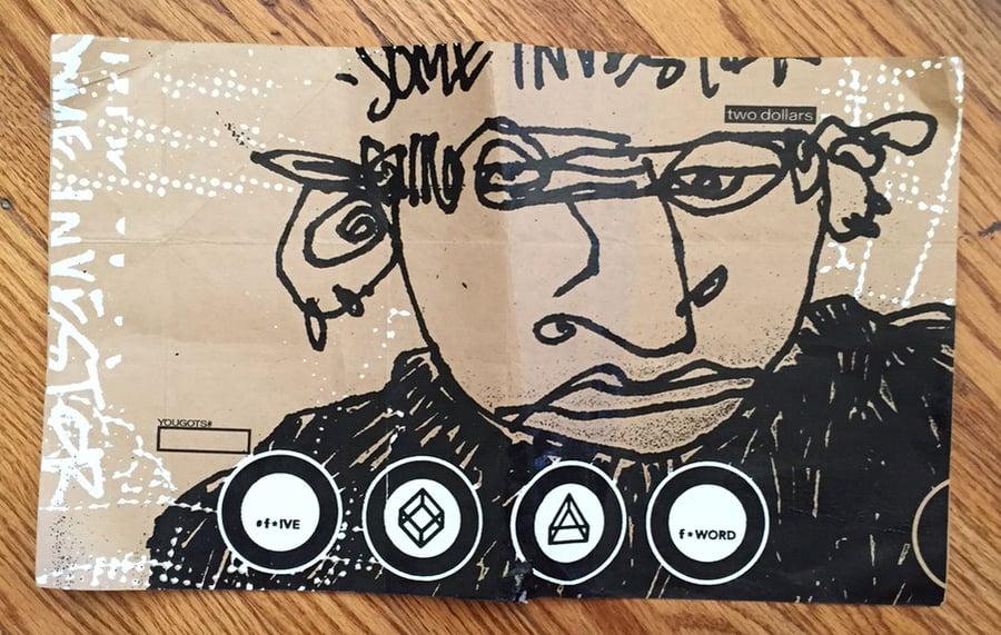 Image of PRINT: F-Word Zine Silkscreen