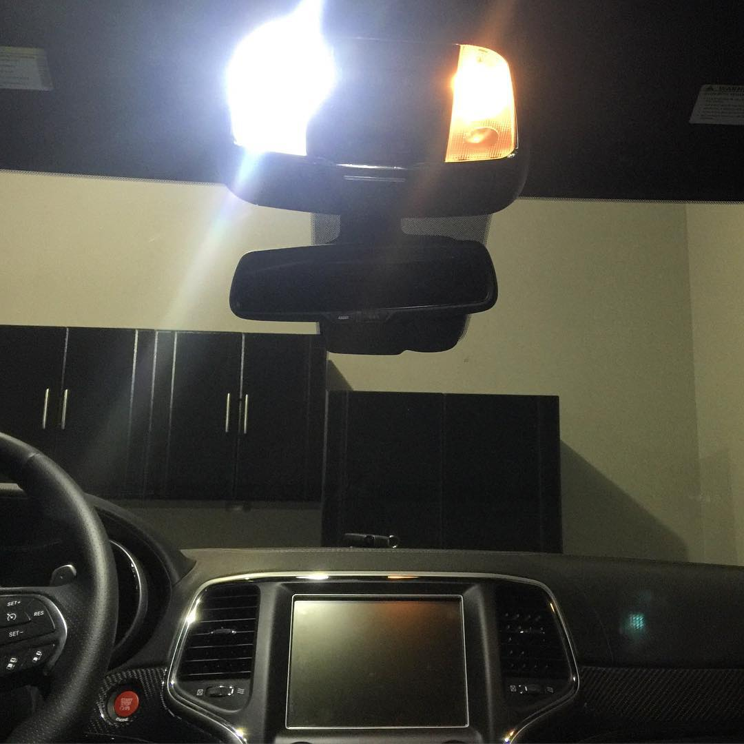 Image of Complete Interior LED Kit for the All Jeep models including SRT, overland, Laredo, limited
