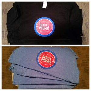 Image of Derill Pounds Classic Basketball T-Shirt