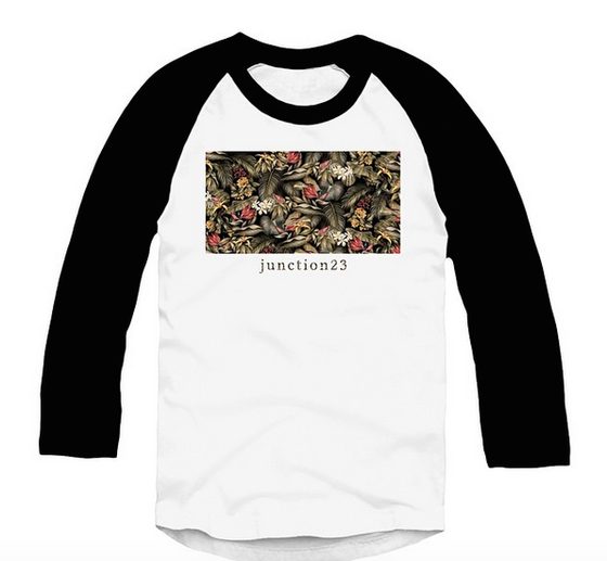 Image of J 2 3 Floral Raglan shirt