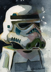 Image of The Trooper Print