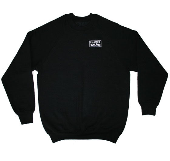Image of BOXING - BLACK SWEATER