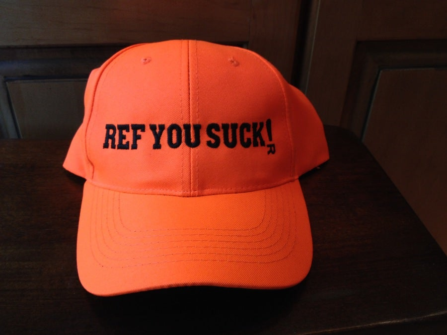 Image of Ref You Suck - Orange Hunting Cap (Last One!)