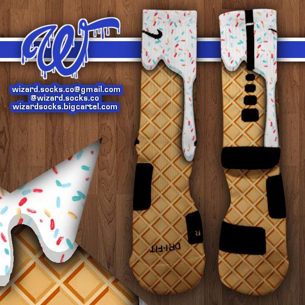 Wizard Socks Ice Cream