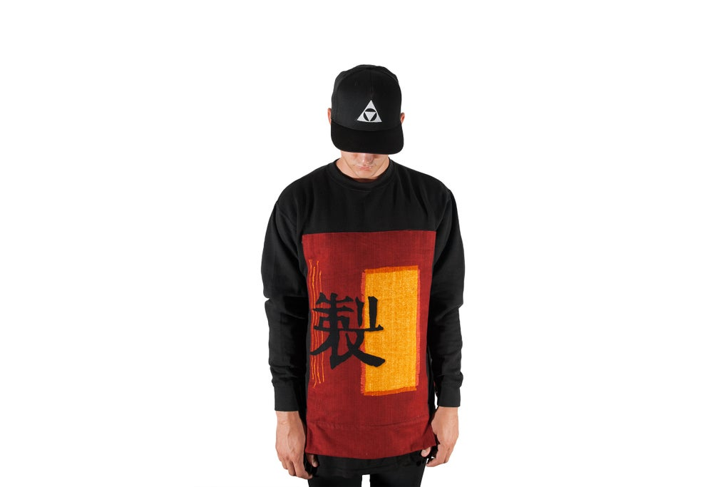 Image of Nobunaga Custom crewneck sweater