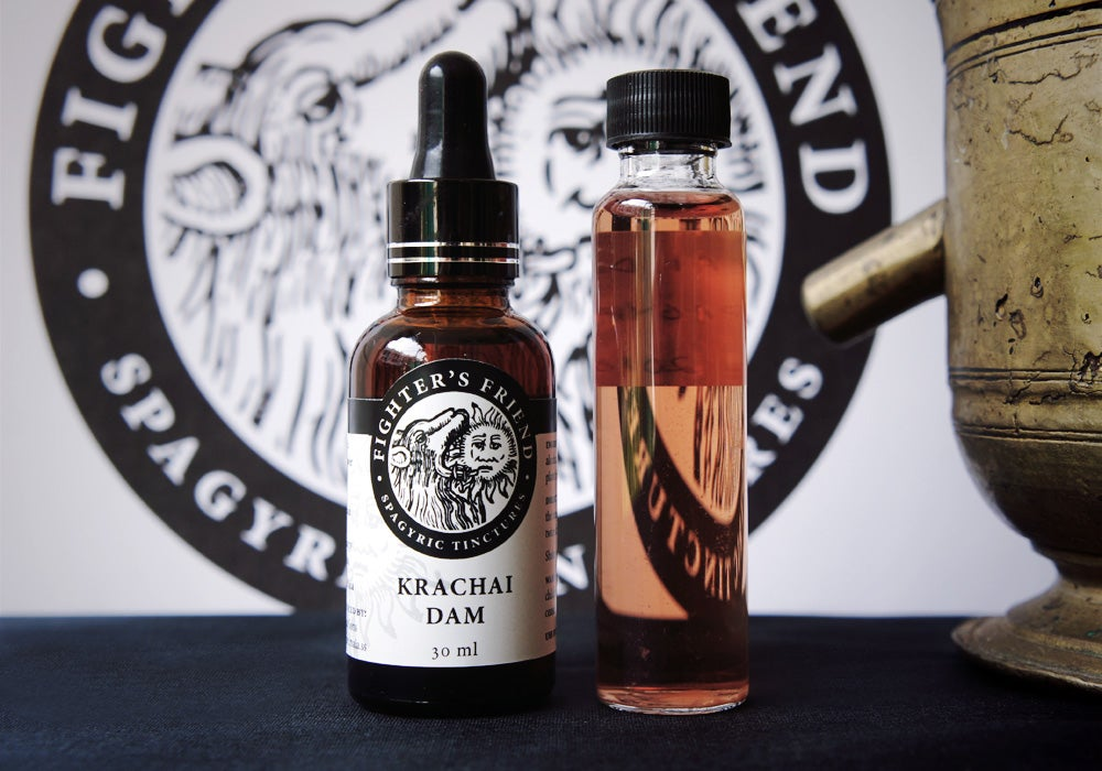 Image of KRACHAI DAM - Fighter's Friend spagyric tincture