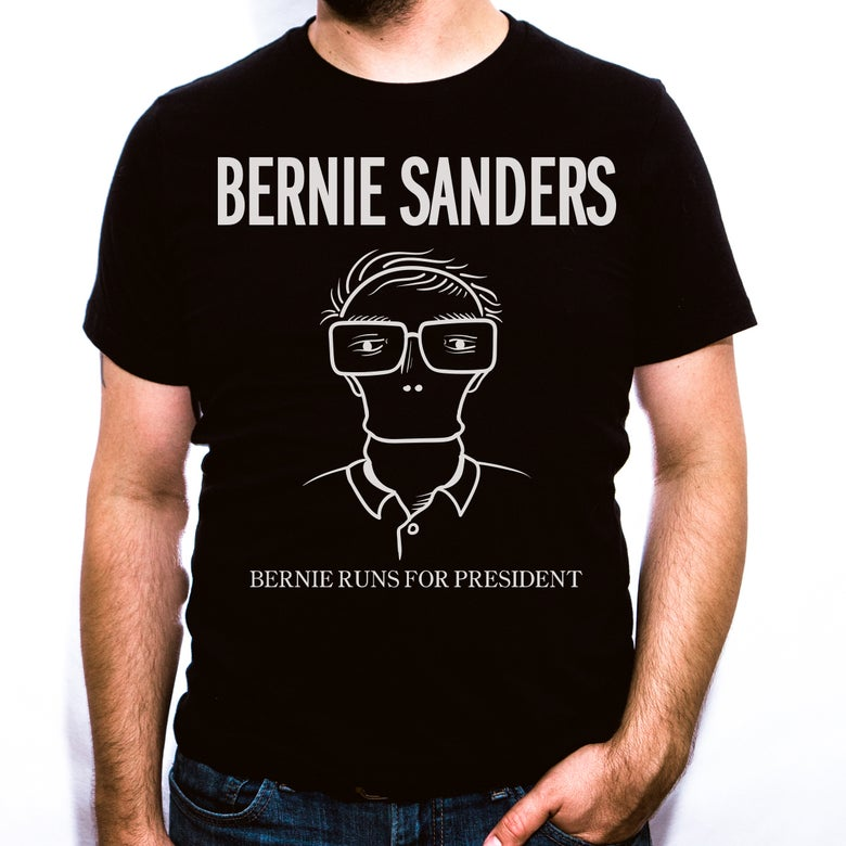 Image of Bernie Runs For President - Unisex