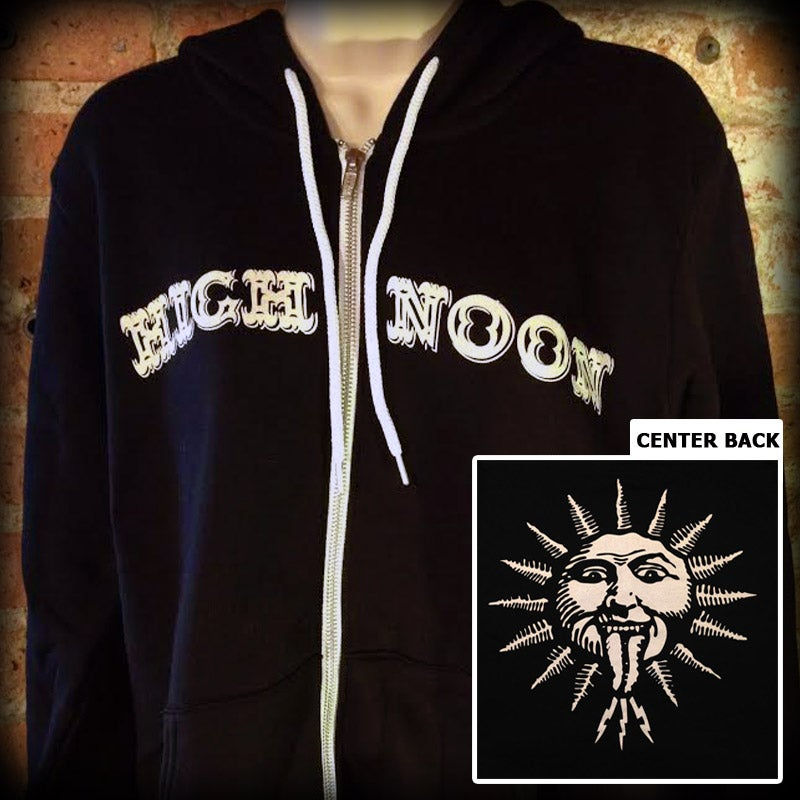 "Image of Zip-Up Hoodie ""High Noon"""