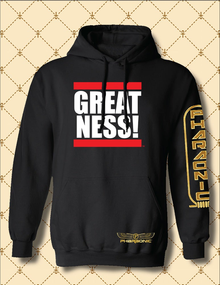 Image of MEN'S/WOMEN'S SPECIAL EDITION GREATNESS HOODIE