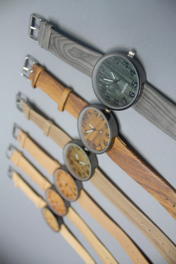 """Image of The """"Wood Grain"""" Watch"""
