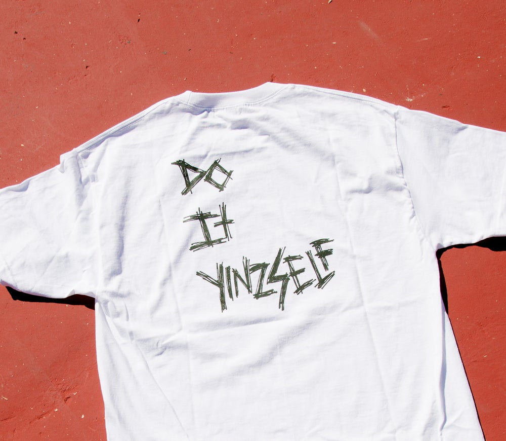 Image of DO IT YINZSELF T SHIRT