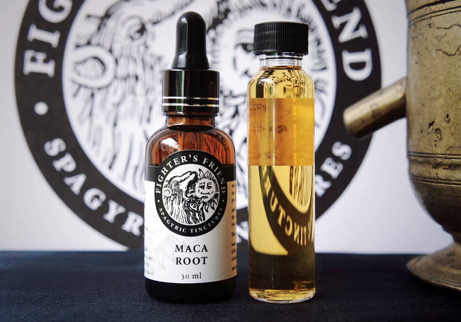 Image of MACA ROOT - Fighter's Friend spagyric tincture