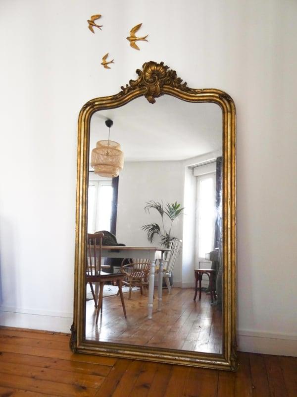 Image of Très grand miroir du XIXième siècle