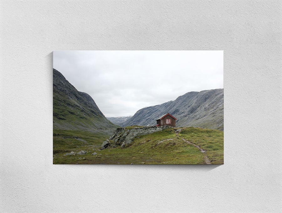 Image of Norway, Grotli, Print