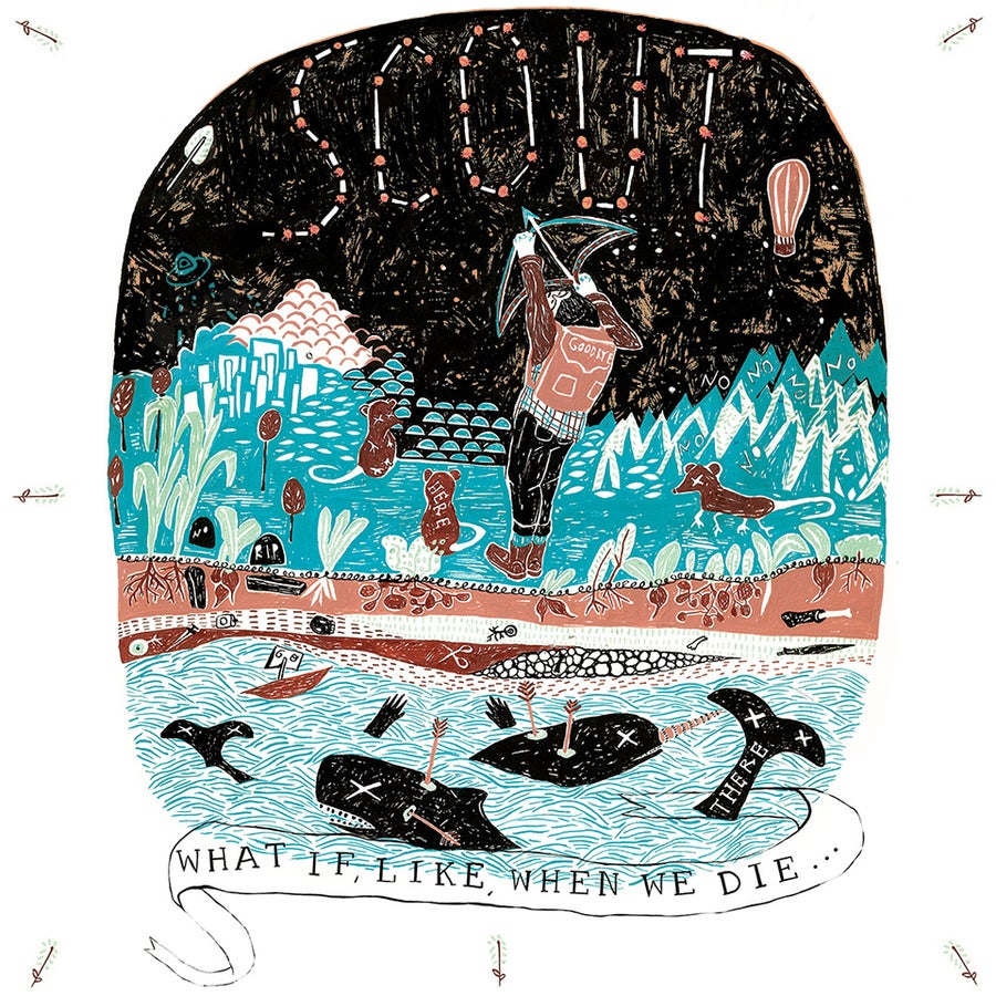 Image of Scout- what if, like, when we die​.​.​. 7""