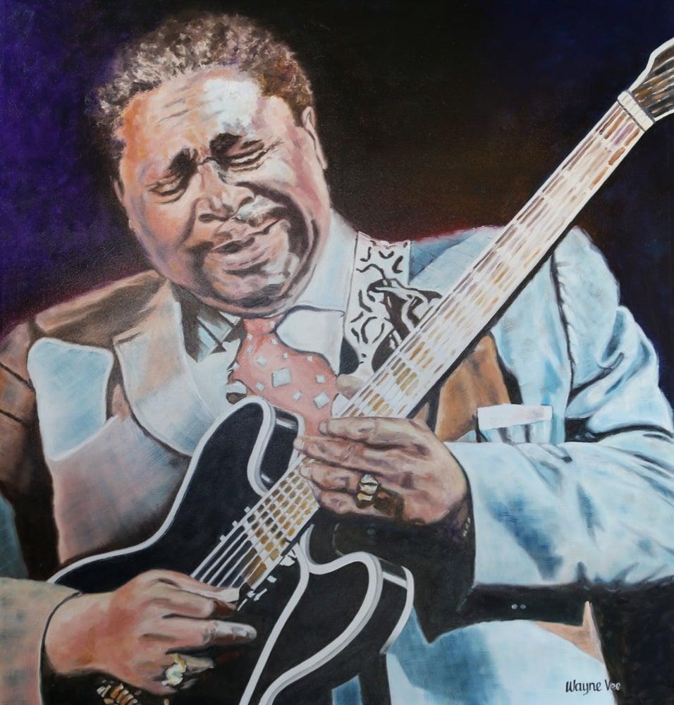 Image of B.B. King • Original Oil Painting