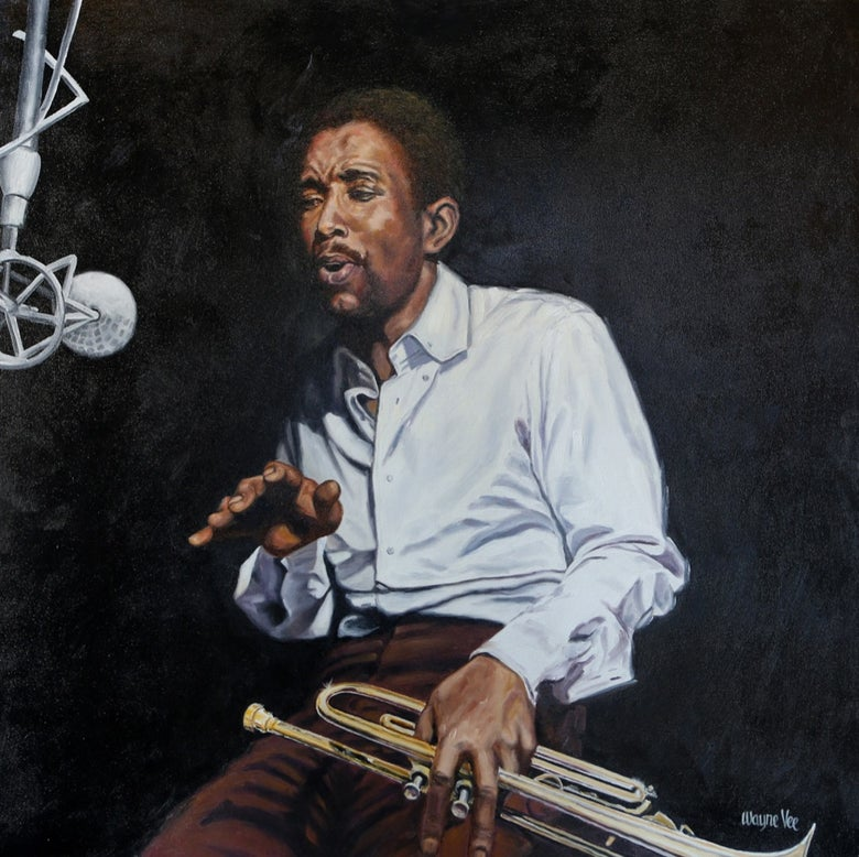 Image of Kenny Dorham • Original Oil Painting
