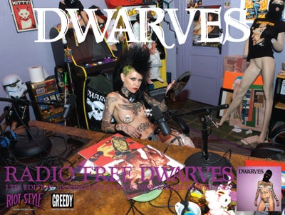 Image of The Dwarves - Radio Free Dwarves Poster 18 x 24""