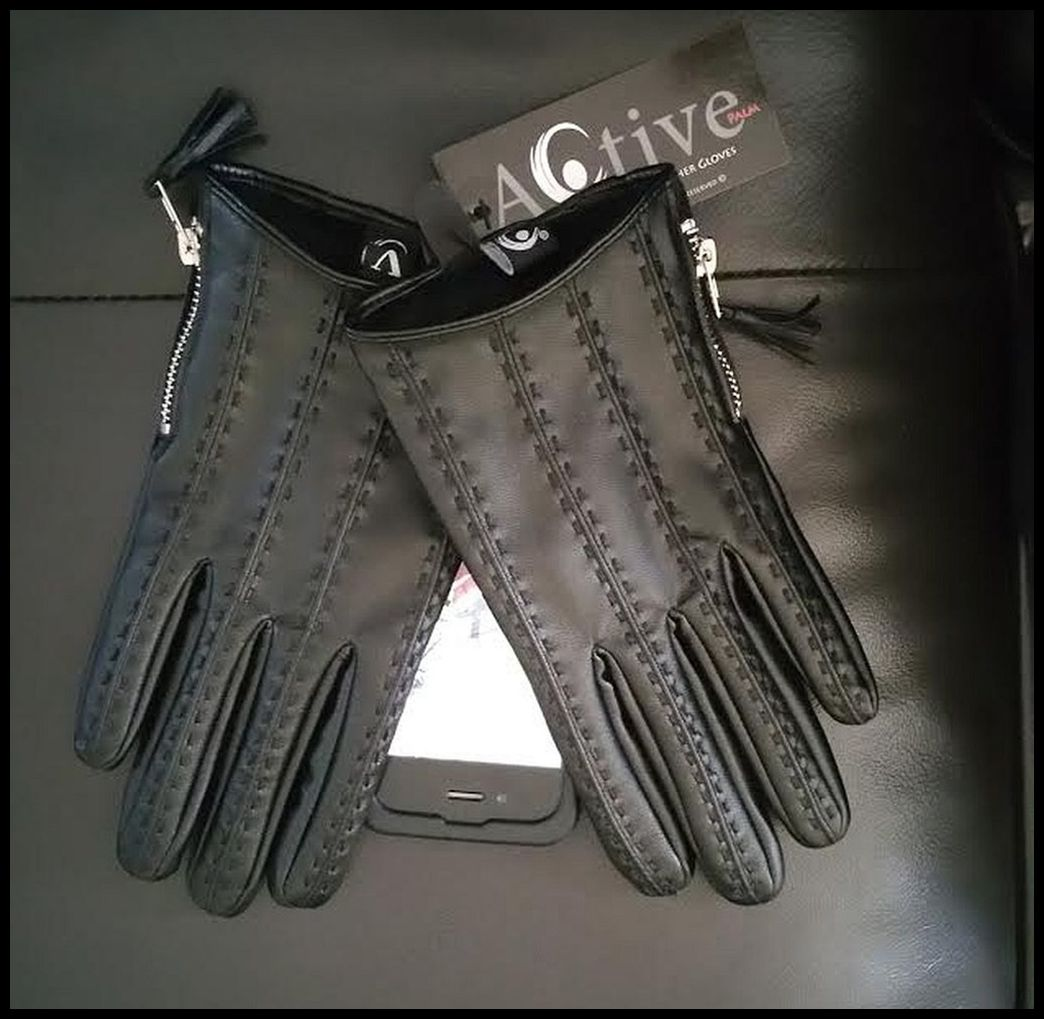 Image of The Active Palm Vegan ➐™ - Women's Touchscreen Leather Gloves (Exclusive)