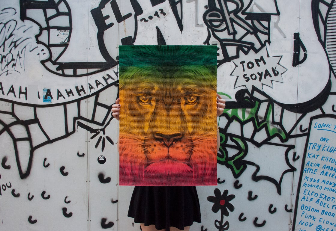 Image of Lion / International Reggae Poster Contest