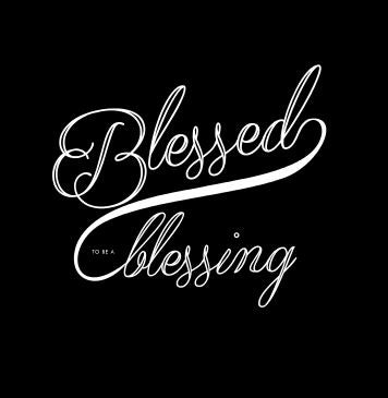 Image of Blessed Script Tee