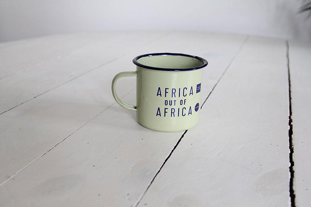 Image of Radio Africa peltre mug