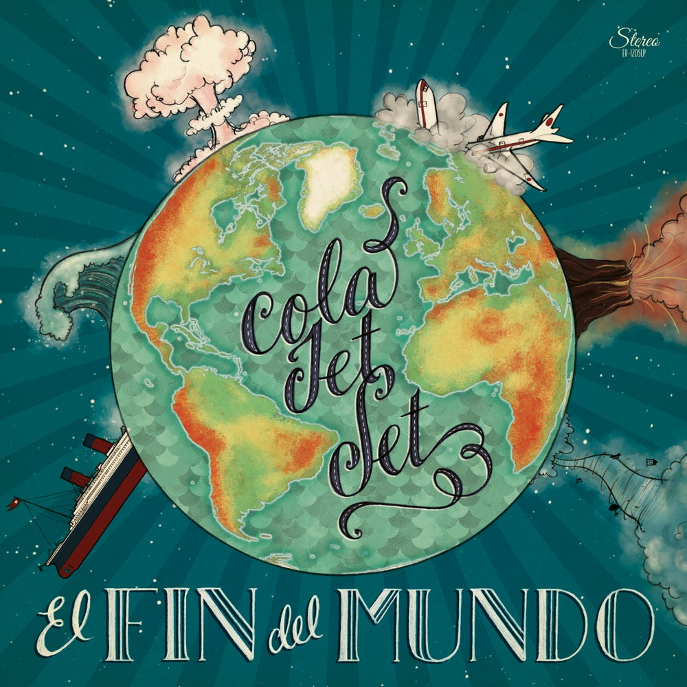 "Image of COLA JET SET - El Fin Del Mundo (Limited 12"" vinyl LP with MP3s / CD)"