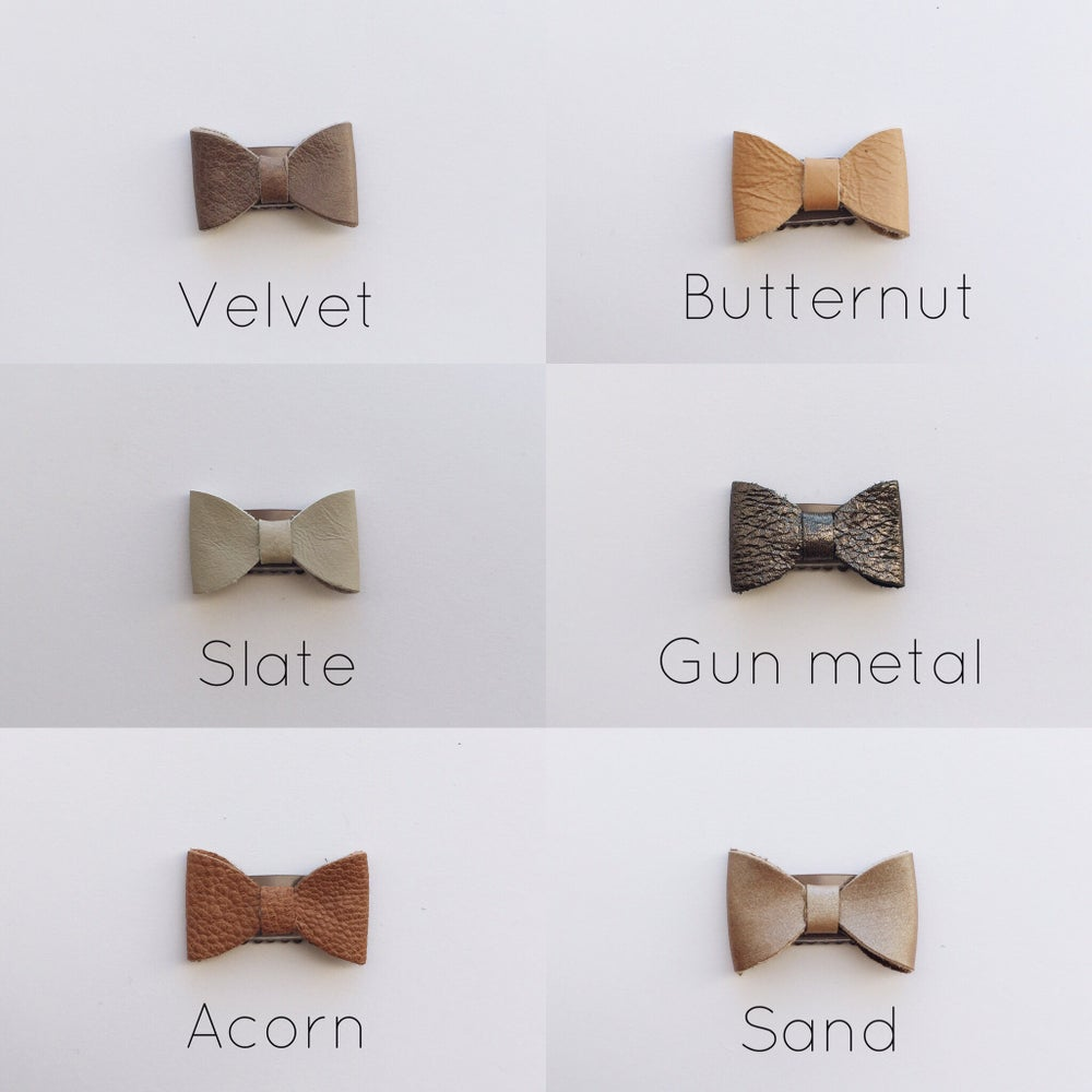 Image of Original petite bows in the neutrals