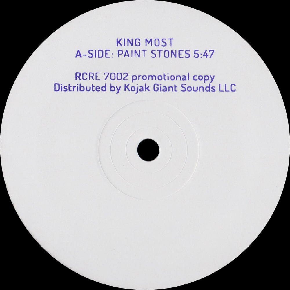 """Image of King Most - """"Paint Stones"""" 10"""""""