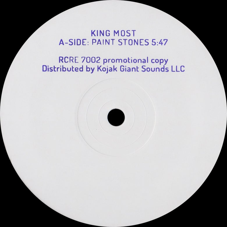 "Image of King Most - ""Paint Stones"" 10"""