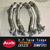 Image of SRM - AUDI 2.7 DUAL FLANGE Downpipes